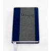 The Mission Study Bible Sapphire Silver Leather