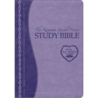 Remnant Study Bible KJV (Lavender) Leathersoft Indexed, with E.G White comments