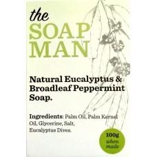 Natural Eucalyptus & Broadleaf Peppermint Soap