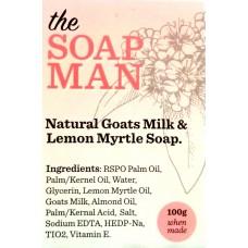 Natural Goats Milk & Lemon Myrtle Soap