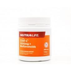 NutraLife Ester C 1000mg + Bioflavonoids 100 Tablets